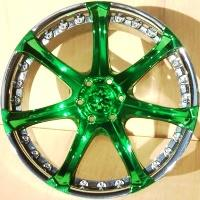Green Tinted Rims