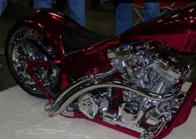 Red Chrome Sprayed Bike 9