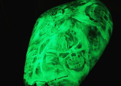 Glow in the Dark Bike Parts 1