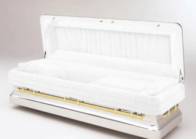 chrome coffin