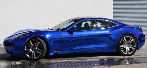 Blue Chrome Car 7