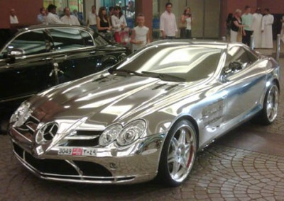 Chrome Car 46