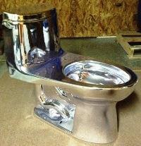 Chrome Toilet 5