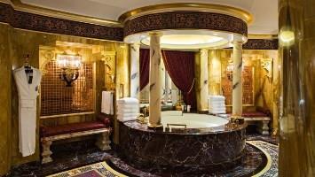 CHROME SPRAYED BATHROOMS
