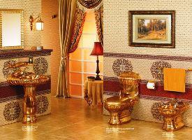 Gold Bathroom 2