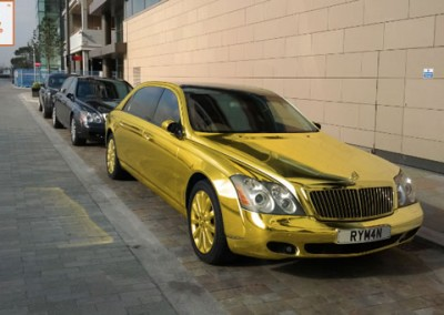 Gold Chrome Car 10