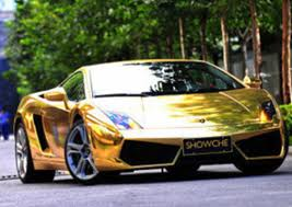 Gold Chrome Car 11 (2)