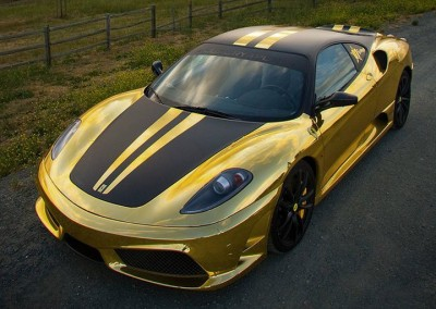 Gold Chrome Car 12
