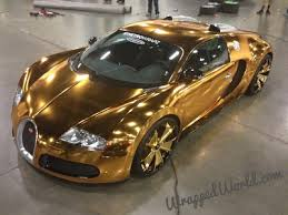 Gold Chrome Car 15
