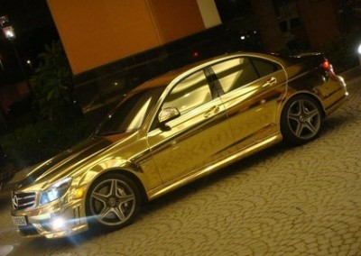 Gold Chrome Car 4 (1)