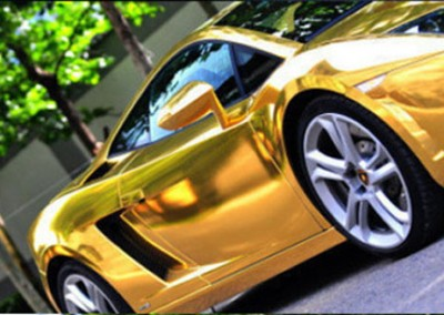 Gold Chrome Car 5 (4)