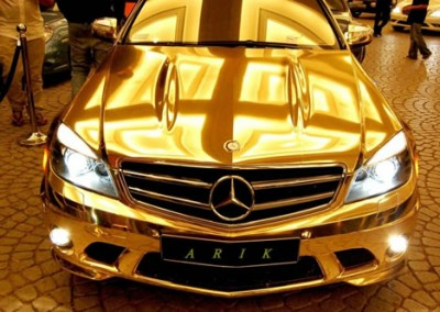 Gold Chrome Car 5