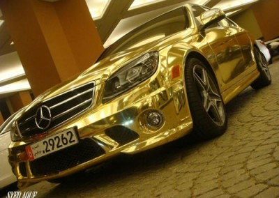 Gold Chrome Car 6