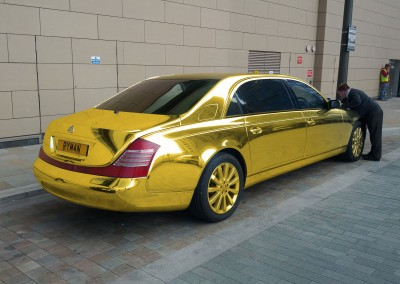 Gold Chrome Car 7
