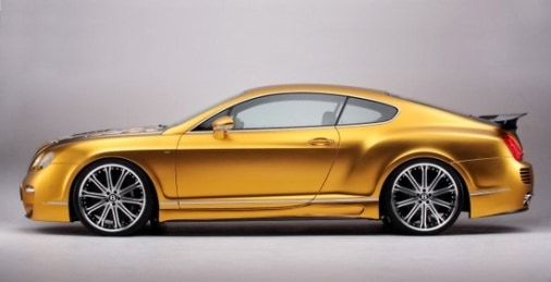 Gold Chrome Car 8