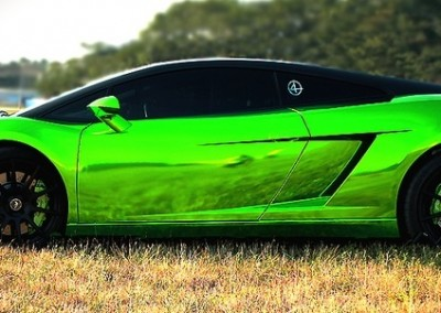 Green Chrome Car 2