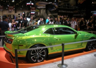 Green Chrome Car 4