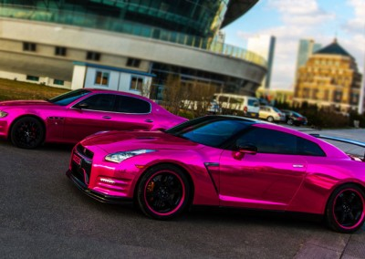 Pink Chrome Car 5
