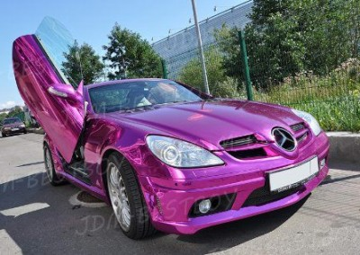 Purple chrome Car 3