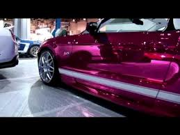 Purple chrome Car 8