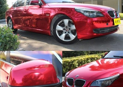Red Chrome Car 1