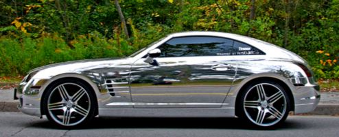 chrome Car 5
