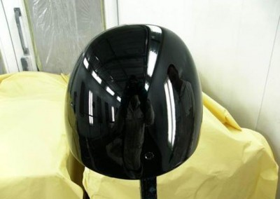 Black Chrome Sprayed  - Mirror Look