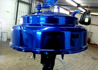 Blue Chrome Sprayed Brake Booster