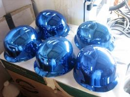 Chrome Helmets 1