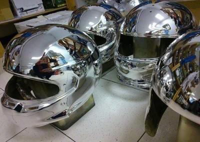 Chrome Helmets 4