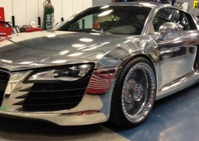 Chrome Sprayed Audi 1