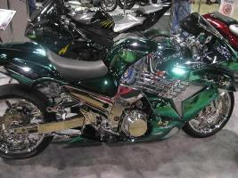 Chrome Sprayed Bike 4