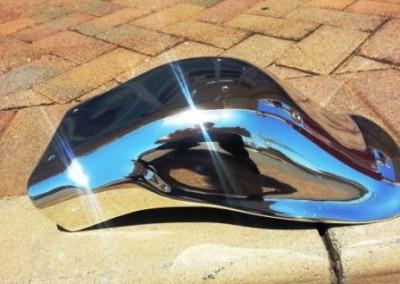 Chrome Sprayed Bike Fender 5