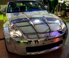 Chrome Sprayed Car 10
