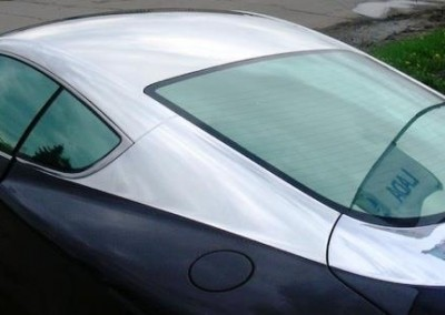 Chrome Sprayed Car 2