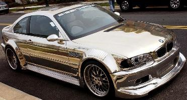 Chrome Sprayed Car 20