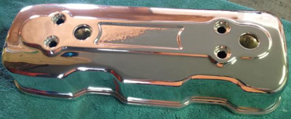 Chrome Sprayed Engine Cover