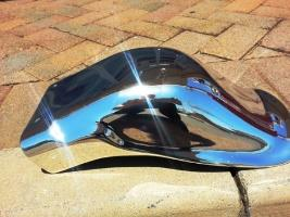 Chrome Sprayed Fender 1