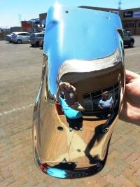 Chrome Sprayed Fender 2