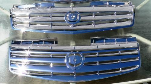 Chrome Sprayed Grills 2