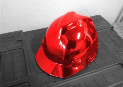Chrome Sprayed Hard Hat 6