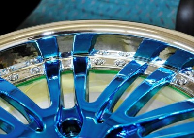Chrome Sprayed Rim 2