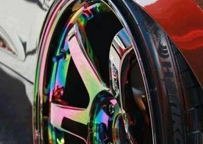 Chrome Sprayed Rims 3