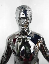 Chrome Statue 36