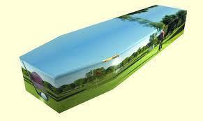 Gold Chromed Coffin 2