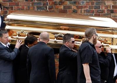 Gold Chromed Coffin 6