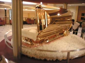 Gold Chromed Coffin 8