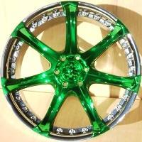 Green Tinted Rims