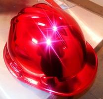 Tinted Red Hard Hat