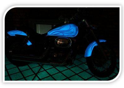 Glow In The Dark Motorbikes Gallery Image 1
